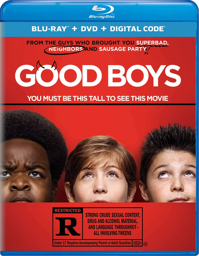 Good Boys Digital Copy Download Code MA VUDU iTunes HDX