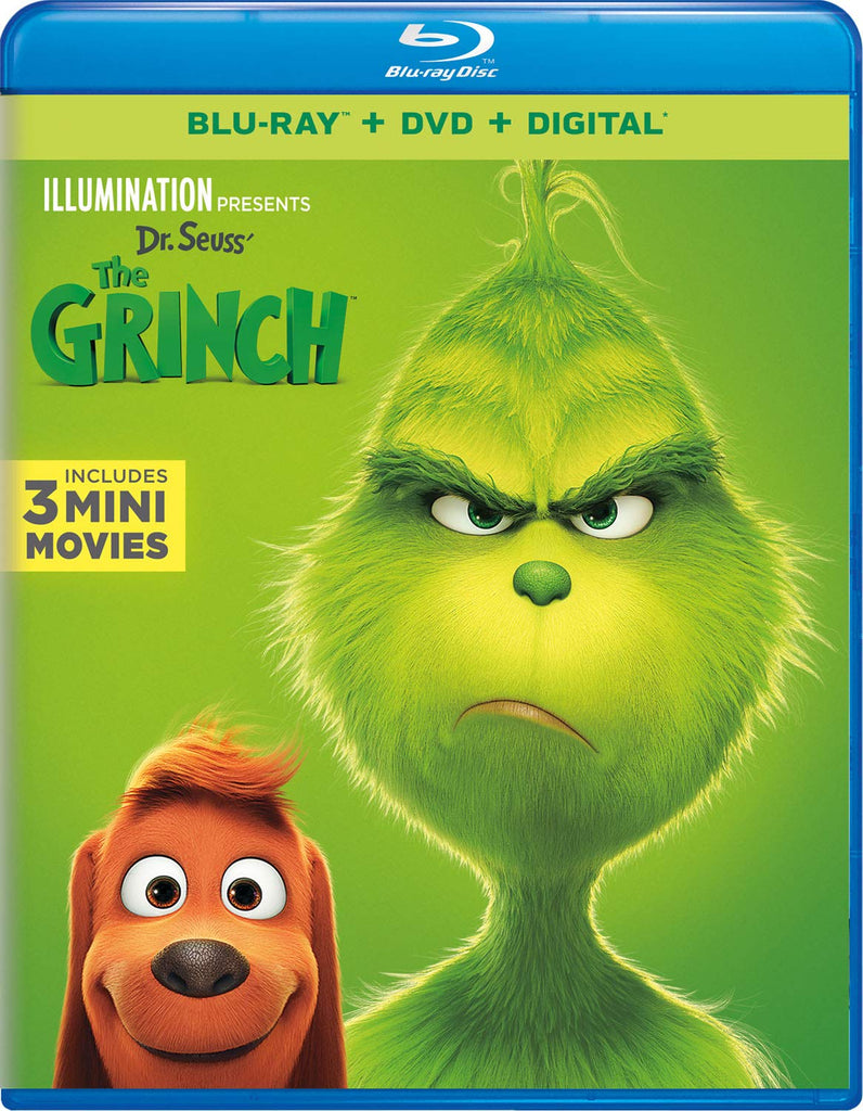 The Grinch (2019) Digital Copy Download Code MA Vudu iTunes HD HDX