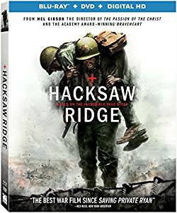 Hacksaw Ridge Digital Copy Download Code iTunes HD 4K