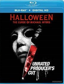 Halloween: The Curse of Michael Myers Unrated Producer's Cut Digital Copy Download Code UV Ultra Violet VUDU HD HDX