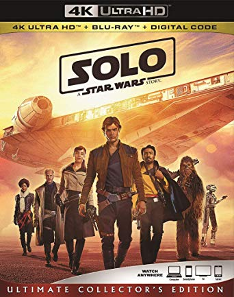 Solo: A Star Wars Story Digital Copy Download Code 4K