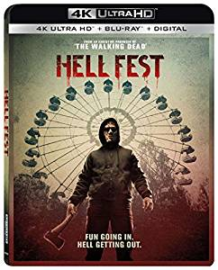 Hell fest Digital Copy Download Code Vudu 4K