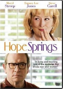 Hope Springs Digital Copy Download Code UV Ultra Violet VUDU SD