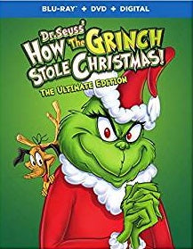 How the Grinch Stole Christmas (Animated) Digital Copy Download Code Ultra Violet UV VUDU iTunes HD HDX