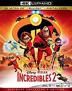 Incredibles 2 Digital Copy Download Code VUDU 4K