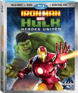 Iron Man and Hulk Heroes United Digital Copy Download Code UV Ultra Violet VUDU HD HDX