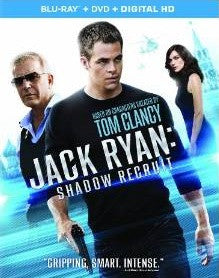 Jack Ryan: Shadow Recruit Digital Copy Download Code iTunes HD 4K