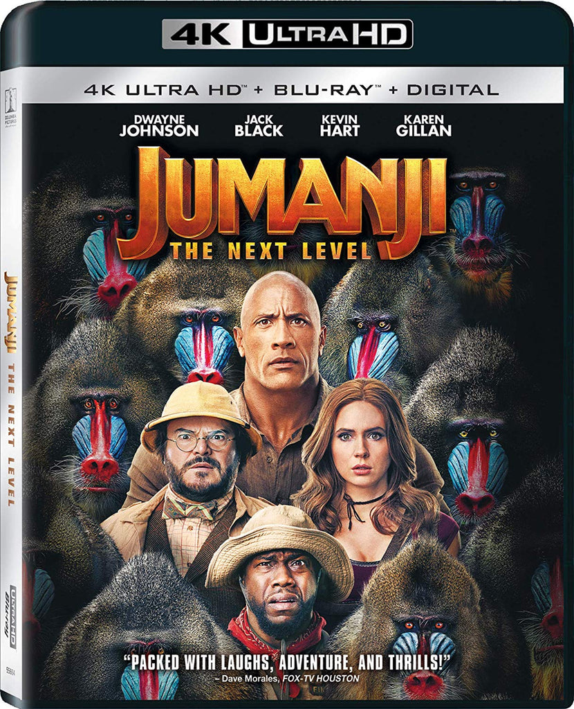 Jumanji The Next Level Digital Copy Download Code MA VUDU iTunes 4K
