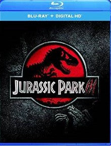 Jurassic Park III Digital Copy Download Code UV Ultra Violet VUDU HD HDX