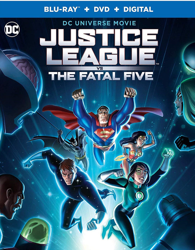 Justice League Vs Fatal Five Digital Copy Download Code MA VUDU iTunes HD HDX