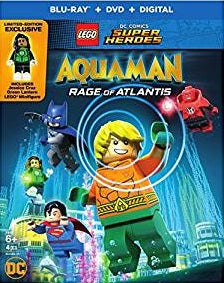 Lego Super Heroes Aquaman Rage of Atlantis Digital Copy Download Code iTunes HD