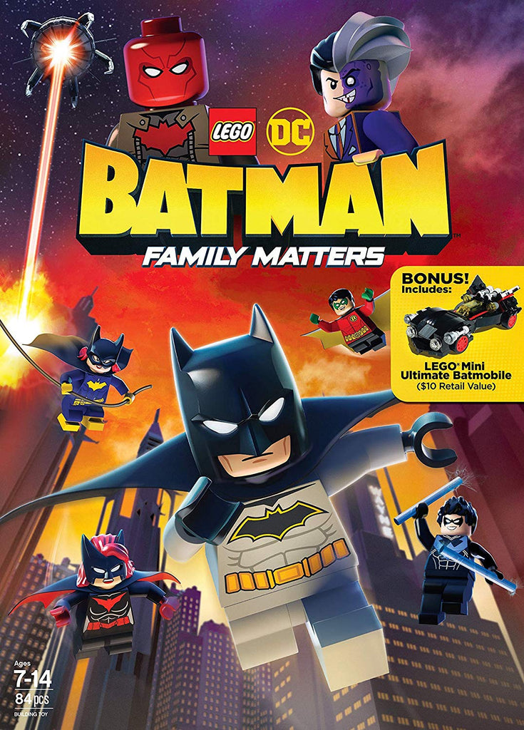 Lego DC Batman Family Matters Digital Copy Download Code MA Vudu iTunes HD HDX