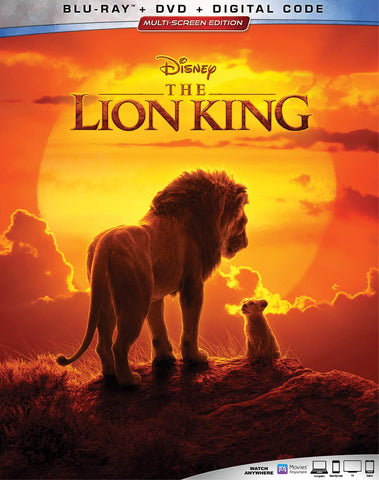 Lion King 2019 Digital Copy Download Code Disney Google Play HD