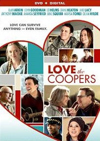 Love the Coopers Digital Copy Download Code VUDU SD