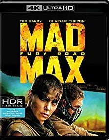 Mad Max: Fury Road Digital Copy Download Code MA Vudu iTunes 4K