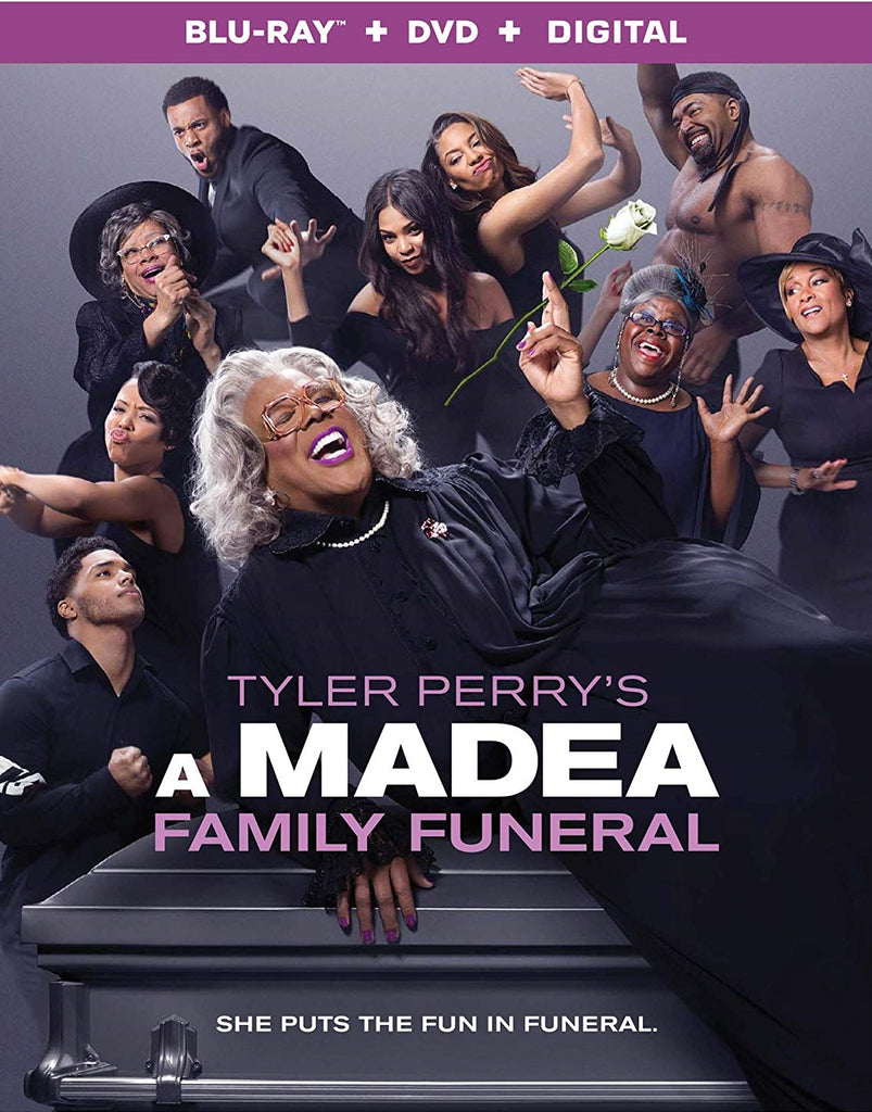 A Madea Family Funeral Digital Copy Download Code Vudu or iTunes HD HDX