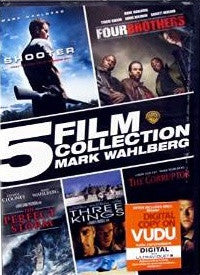 5 Film Collection Mark Wahlberg Mark Wahlberg Shooter/Four Brothers/The Perfect Storm/Three Kings/The Corruptor