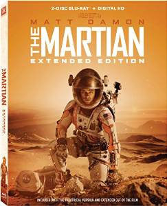 Martian: The Extended Edition Digital Copy Download Code UV Ultra Violet VUDU HD HDX