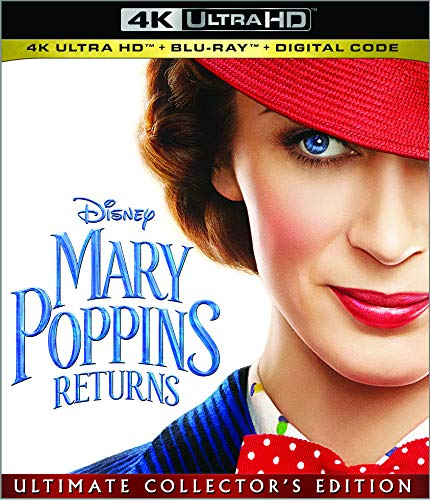 Mary Poppins Returns Digital Copy Download Code MA VUDU iTunes 4K