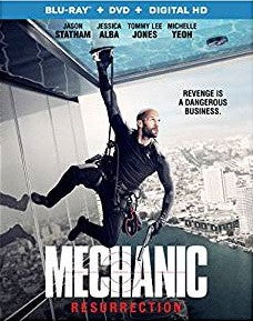 Mechanic: Resurrection Digital Copy Download Code iTunes HD