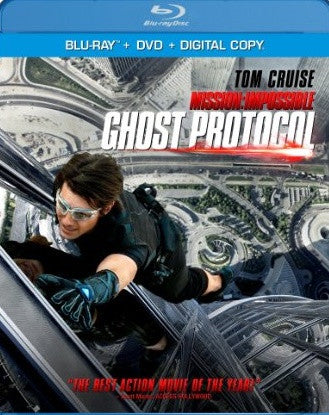 Mission Impossible Ghost Protocol Digital Copy Download Code VUDU 4K