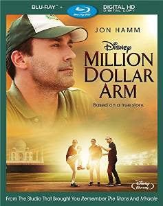 Million Dollar Arm Digital Copy Download Code Disney Movies Anywhere VUDU iTunes HD HDX