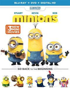 Minions Digital Copy Download Code iTunes 4K