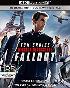 Mission Impossible Fallout Digital Copy Download Code iTunes HD 4K