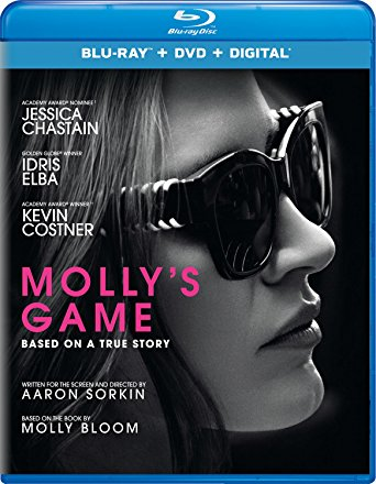 Molly's Game Digital Copy Download Code iTunes HD