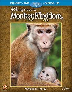 Disney Nature Monkey Kingdom Digital Copy Download Code Disney Movies Anywhere VUDU iTunes HD HDX