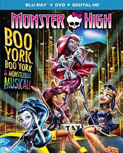 Monster High Boo York, Boo York Digital Copy Download Code UV Ultra Violet VUDU HD HDX