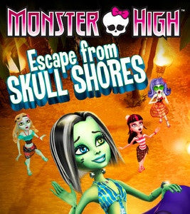 Monster High Escape from Skull Shores Digital Copy Download Code iTunes HD
