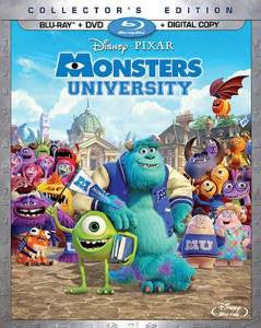 Monsters University Digital Copy Download Code Disney VUDU HDX