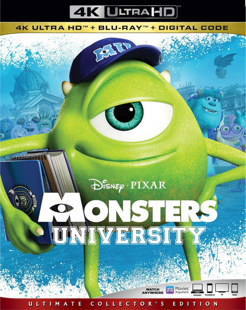 Monsters University Digital Copy Download Code Disney VUDU 4K