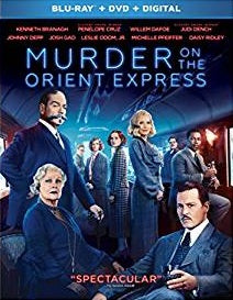 Murder On the Orient Express Digital Copy Download Code Ultra Violet UV VUDU iTunes HD HDX