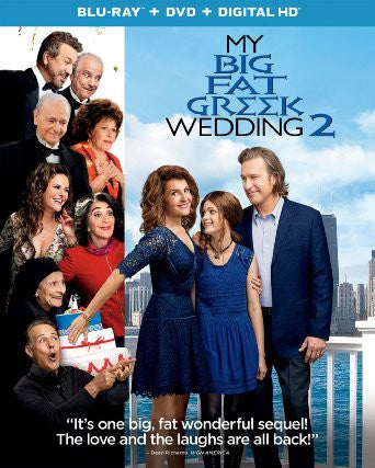 My Big Fat Greek Wedding 2 Digital Copy Download Code iTunes HD