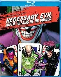 Necessary Evil: Super-Villains of DC Comics Digital Copy Download Code UV Ultra Violet VUDU HD HDX