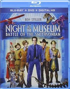 Night at the Museum 2: Battle of the Smithsonian Digital Copy Download Code UV Ultra Violet VUDU HD HDX