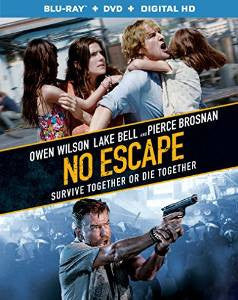 No Escape Digital Copy Download Code UV Ultra Violet VUDU HD HDX