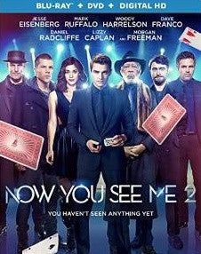 Now You See Me 2 Digital Copy Download Code iTunes HD 4K
