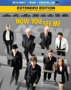 Now You See Me Extended Edition Digital Copy Download Code iTunes HD