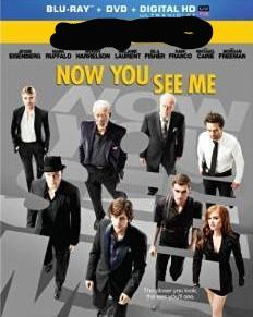 Now You See Me Digital Copy Download Code iTunes HD 4K