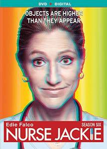 Nurse Jackie Season 6 Digital Copy Download Code UV Ultra Violet VUDU SD