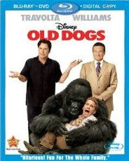 Old Dogs Digital Copy Download Code Disney Movies Anywhere VUDU iTunes HD HDX