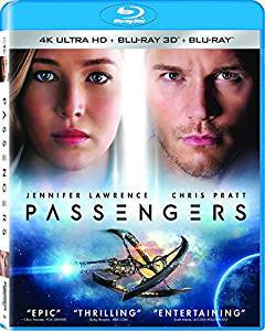 Passengers Digital Copy Download Code Sony 4K
