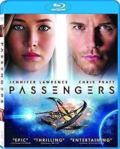 Passengers Digital Copy Download Code Ultra Violet UV VUDU iTunes HD HDX