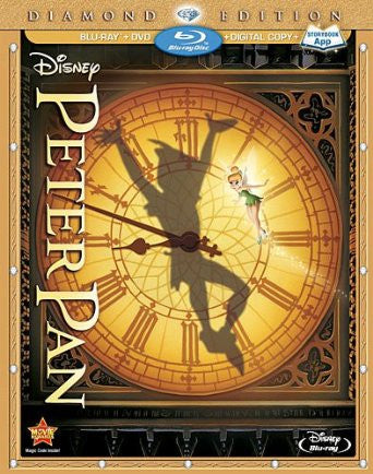 Peter Pan Digital Copy Download Code Disney XML