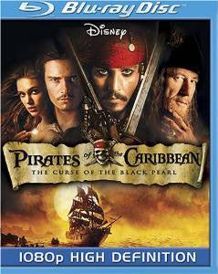 Pirates of the Caribbean The Curse of the Black Pearl Digital Copy Download Code Disney Movies Anywhere VUDU iTunes HD HDX