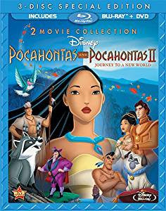 Pocahontas/Pocahontas II Digital Copy Download Code Disney VUDU HDX