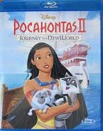 Pocahontas II Journet to the New World Digital Copy Download Code Disney Google Play HD